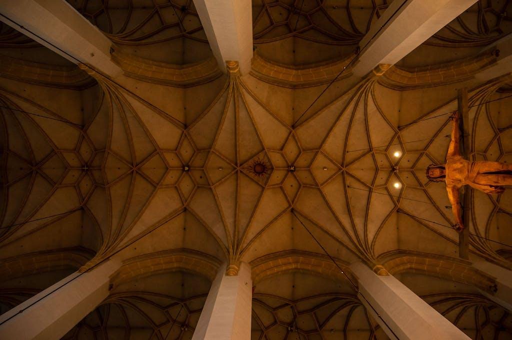 Ceiling of Frauenkirche, Munich