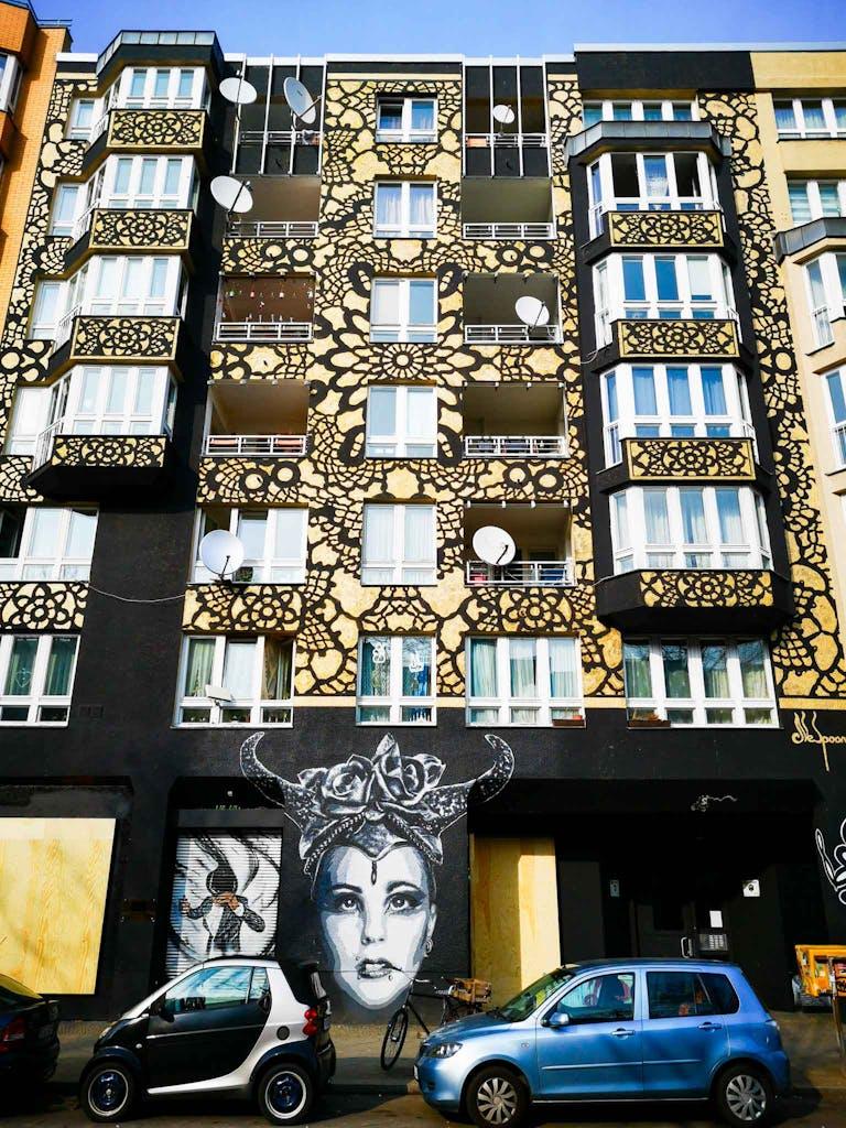 Mural in Bülowstraße