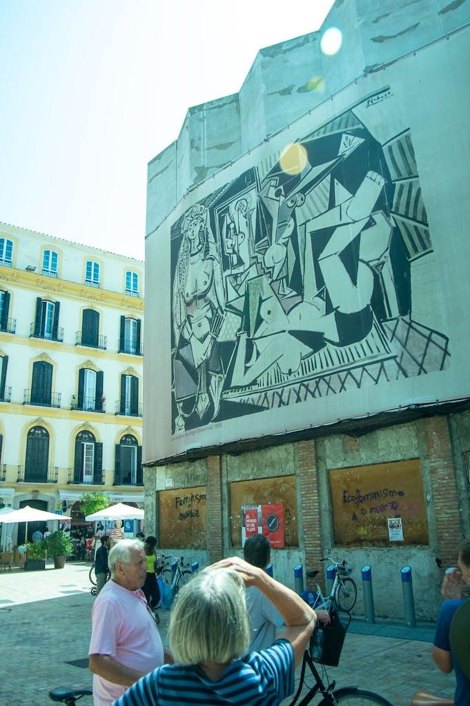 Picasso museum in Malaga.