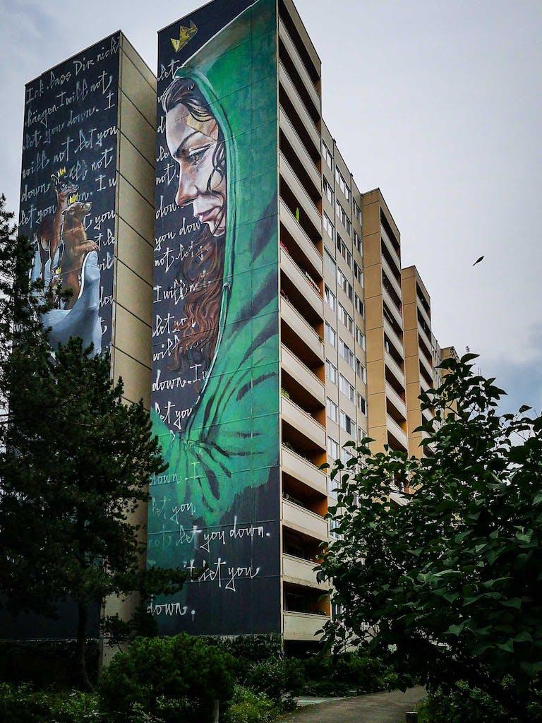 Mural in Tegel