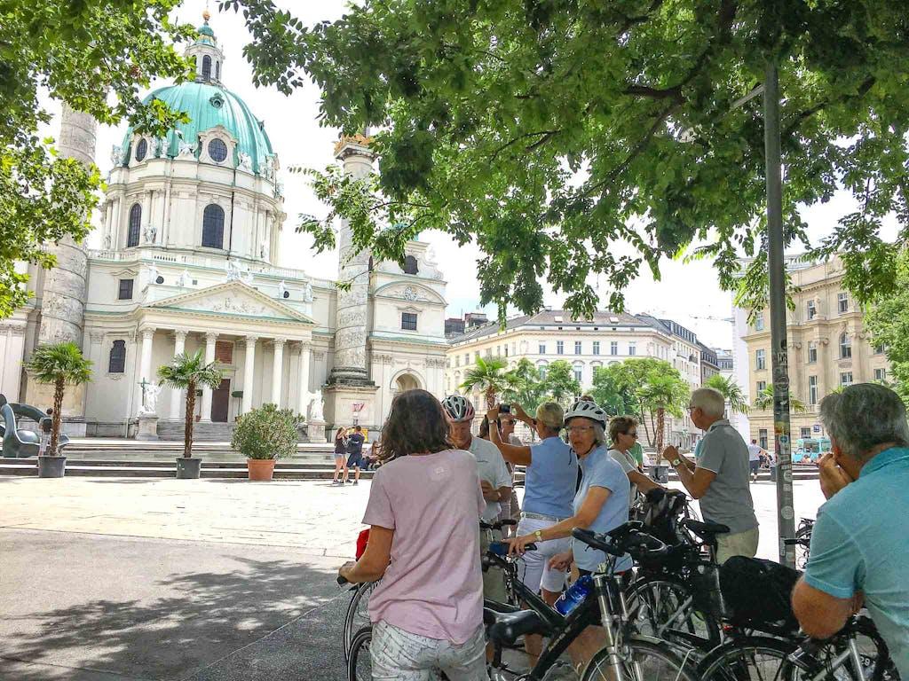 Wien-Radtour-Karlskirche