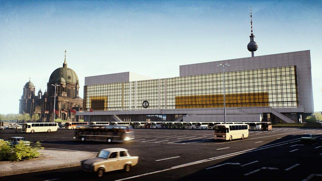 Berlin virtuell: Palast der Republik