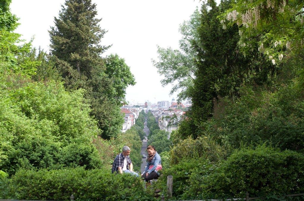 Blick vom Kreuzberg