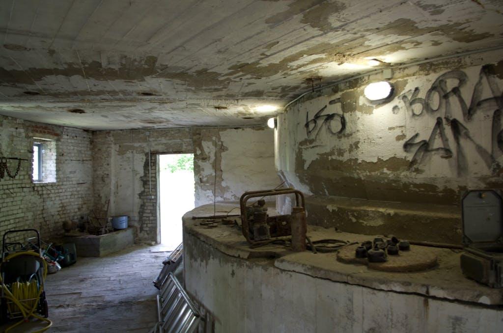 Inside the lost place Schwerbelastungskörper