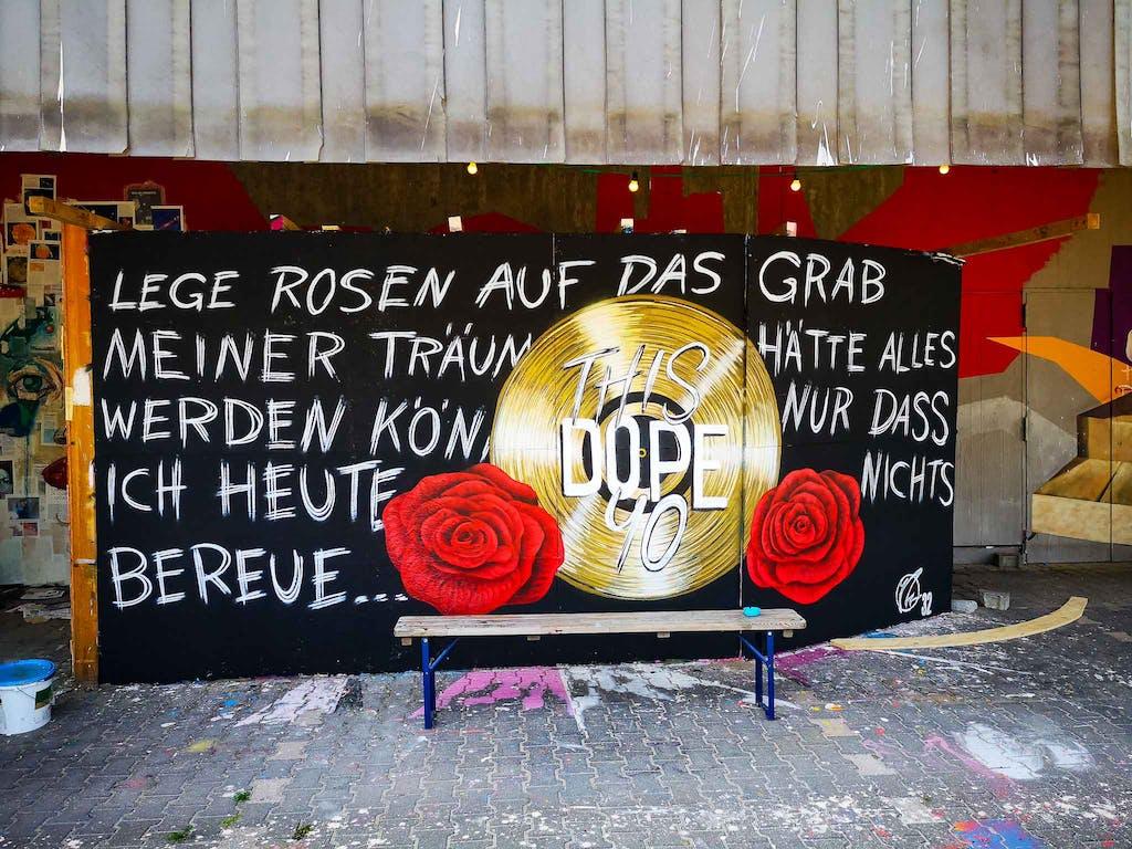 Graffiti at Urban Art Hall