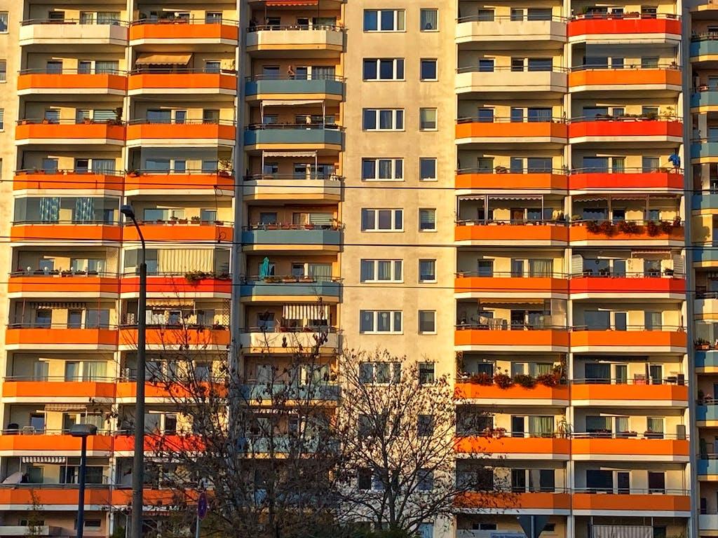 Hochhäuser am Springfuhl