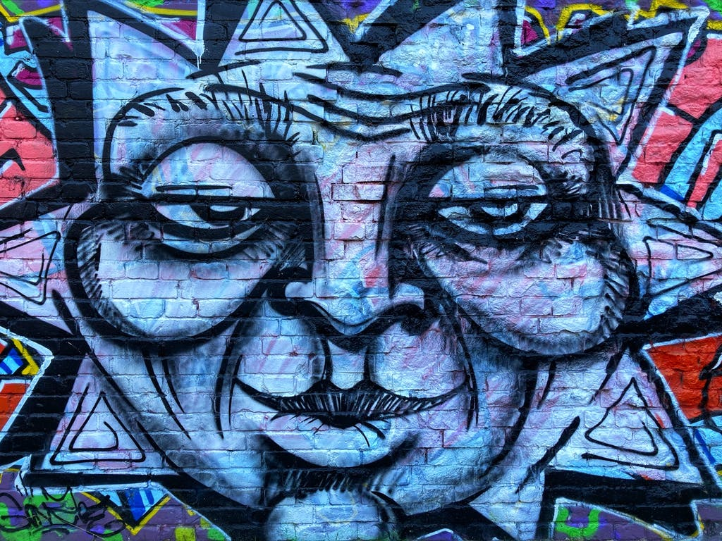 Streetart am Pankeufer