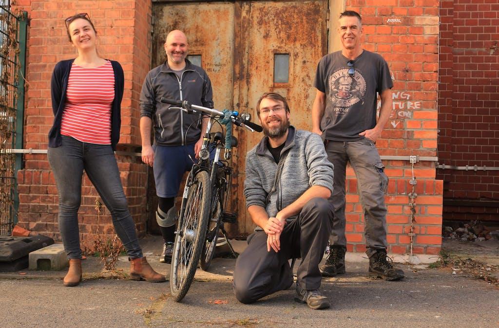 Berlin on Bike Team am Motorwerk