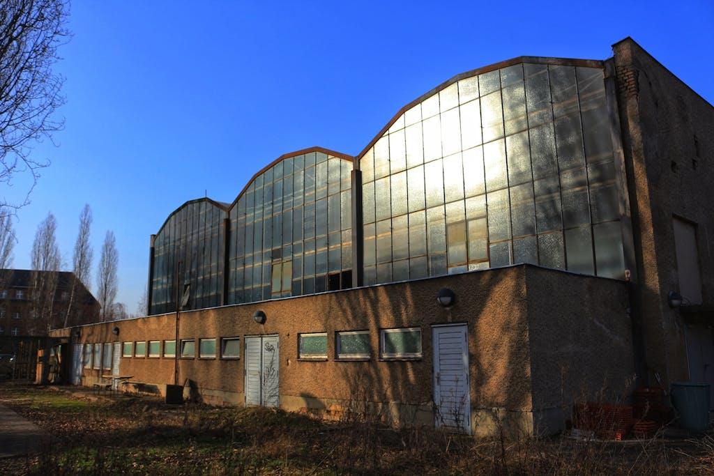 Industriehallen Kreativstadt Weißensee