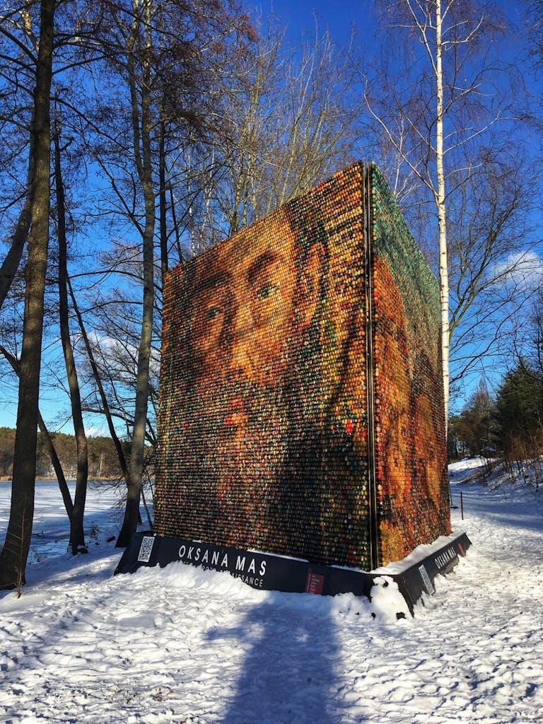 Kunstwerk am Griebnitzsee