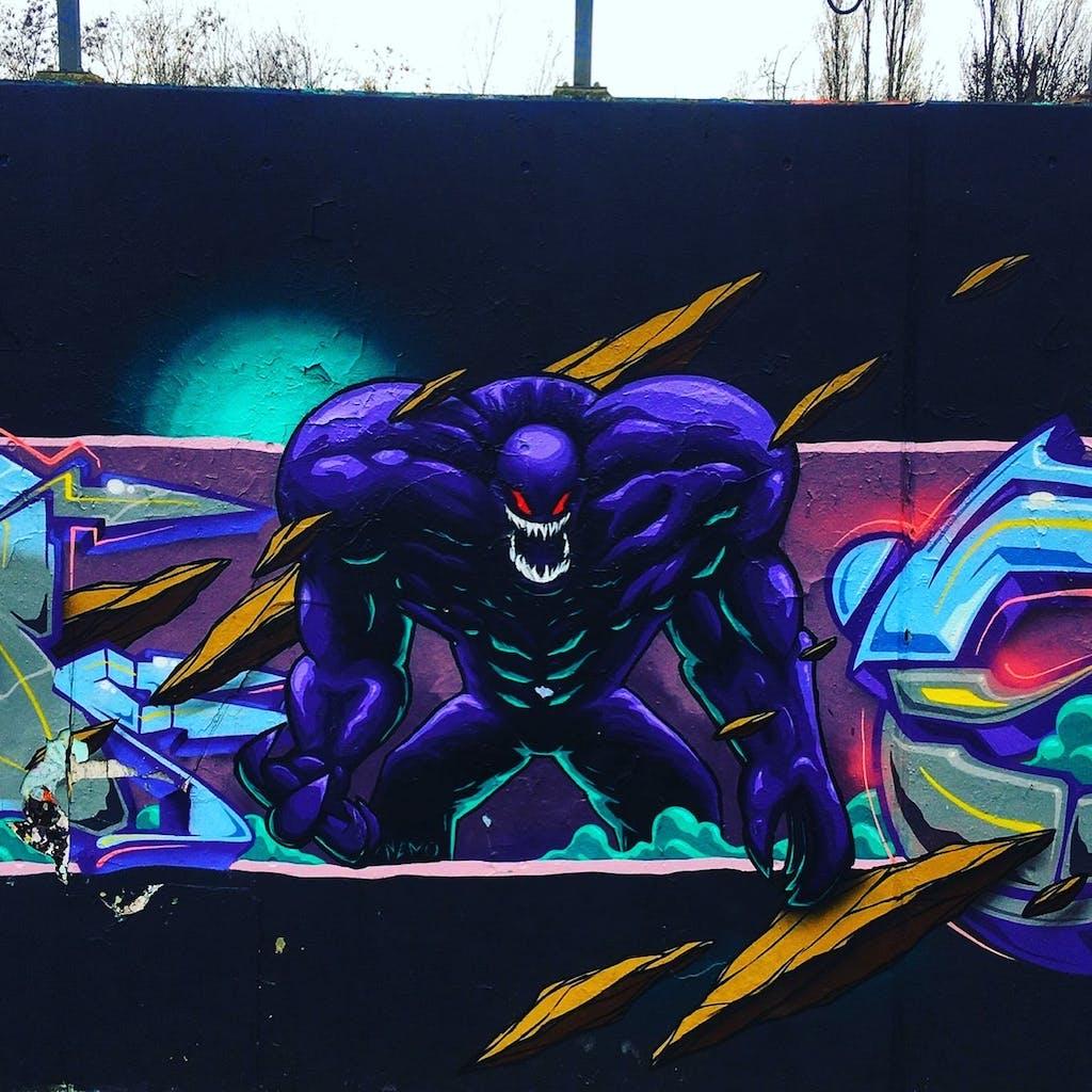 Graffiti Park am Gleisdreieck