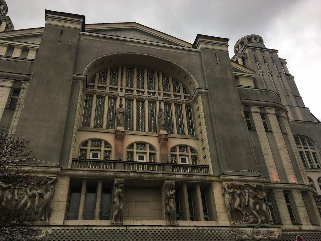 Fassade Theater Metropol am Nollendorfplatz