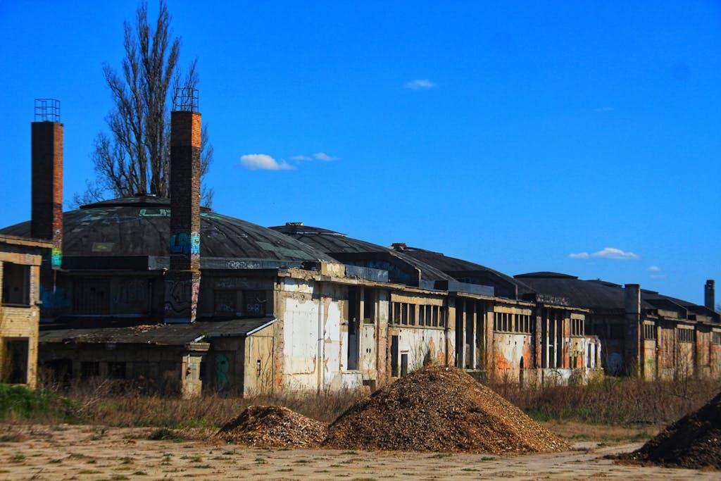 Kuppelhallen des ehemaligen Flugplatz Karlshorst