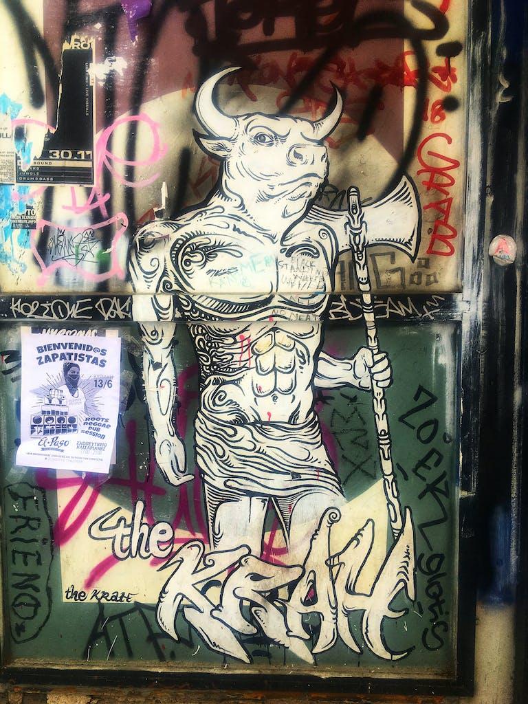 Stencil Athen