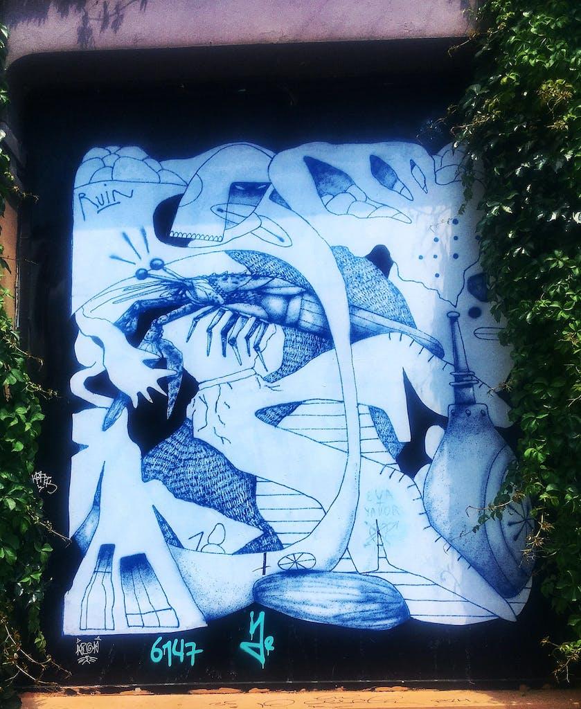 Graffiti Ruin Athen