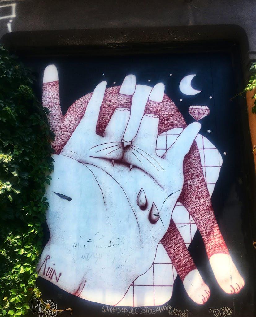 Street Art Ruin Athen