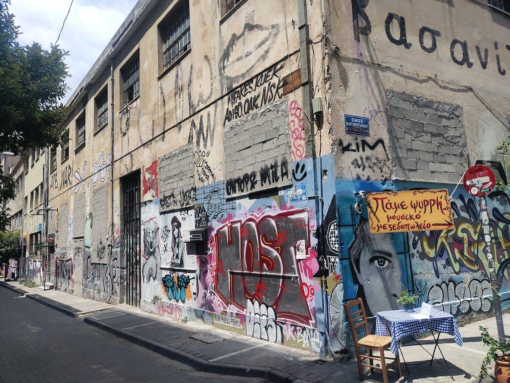 Graffiti Athen