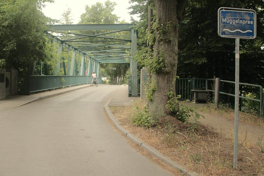 Triglawbrücke über die Müggelspree