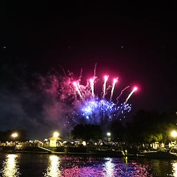 July 4th fireworks from the Barefoot Princess