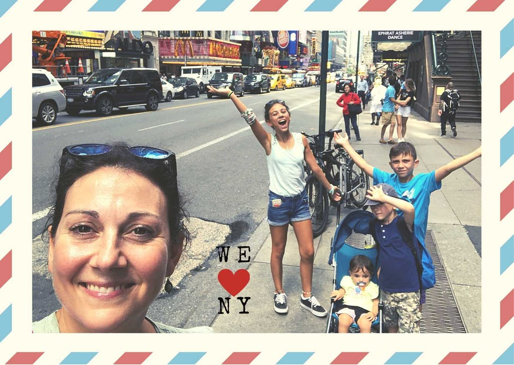 Touring new York with kids