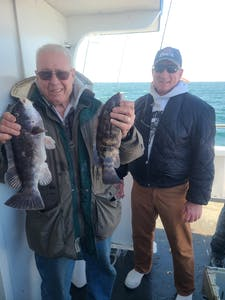 Garry Marshall holding a fish
