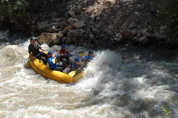 upper middle animas raft trip