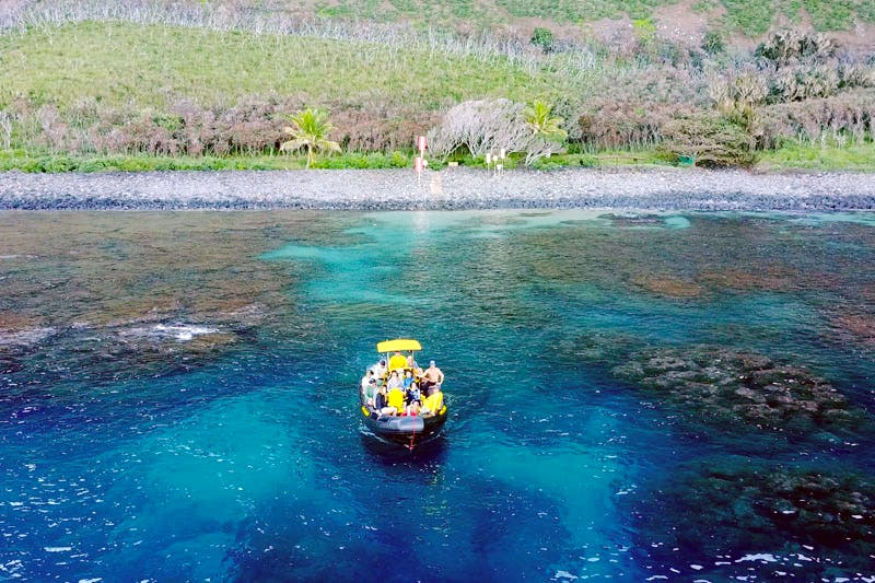 Nualolo Reef, Na Pali Coast Snorkel spot