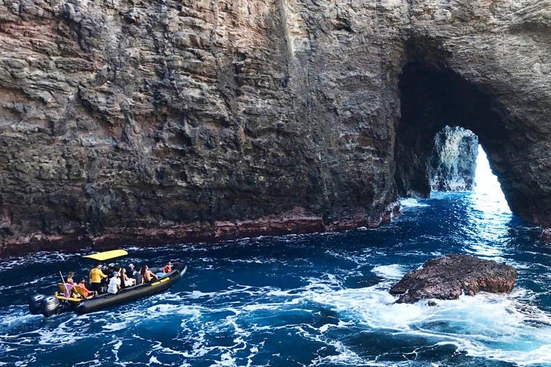 Open Ceiling Cave, Na Pali Coast