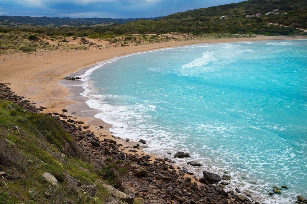 Playa Cala Tirant cerca de Fornells