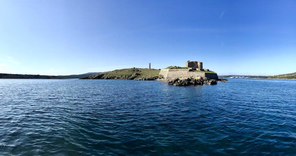 Isla de la bahía de Fornells