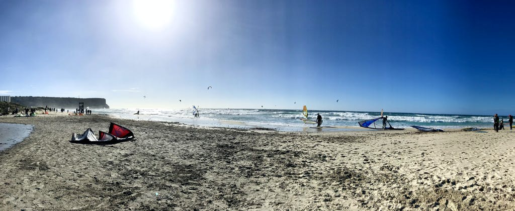 kitesurf y windsurf en son bou menorca