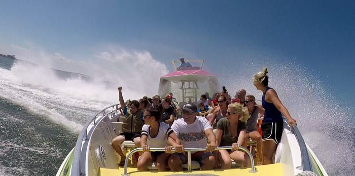 Screamer Speedboat | Ocean City Jet Boat Rides & Dolphin Tours