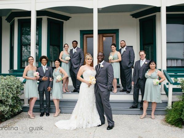 Wedding Group at Stranahan House
