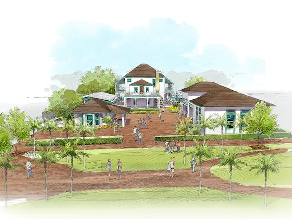 Stranahan House Capital Campaign Full Campus Rendering