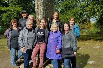 Lizzie and her outlander group