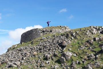 Climb-to-the-top-of-Iron-Age-Dun-Beag-Broch