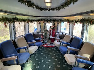 Hiwassee Trains - Observation Seating