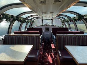 Hiwassee Trips - Dome Seating