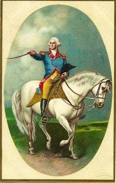 George Washington on Horseback c753d58f2d1fffeecec68f2338c71ca7