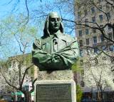 Blog 1a Peter Stuyvestant Bust at St. Mark's Church in the Bowery