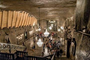 Chamber in Salt Mine in Wieliczka