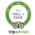 Hocus Pocus TripAdvisor Hall of Fame badge