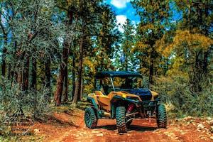 Polaris ATV at the Grand Canyon National Park