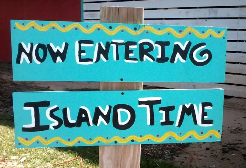 island time sign