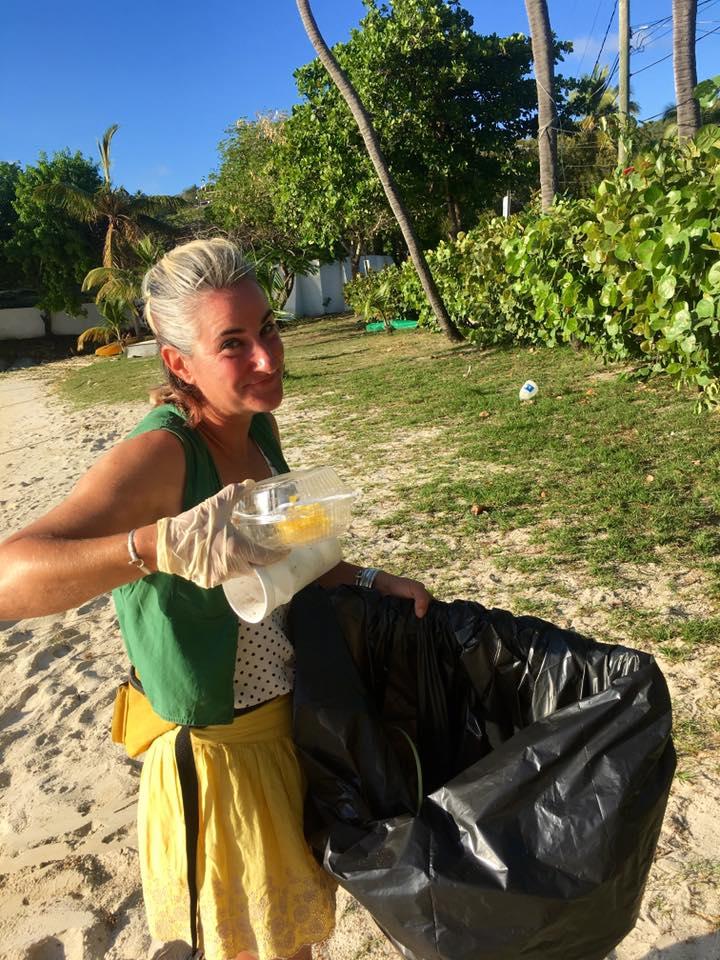 get trashed, st. john, plastic pollution