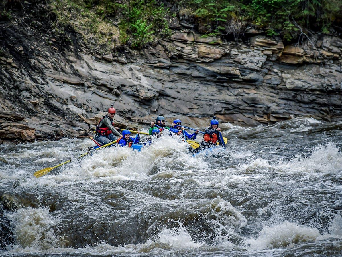 Sheep Creek extreme rafting