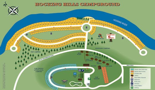 campgrounds map