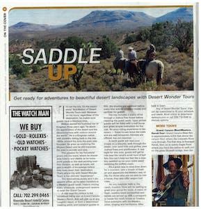 Laughlin Entertainer Magazine; Desert Wonder Tours