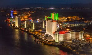 Laughlin, Nevada, Colorado River, Golden Nugget Hotel & Casino