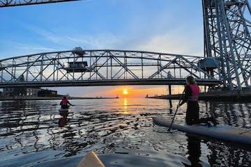 sup aerial lift bridge